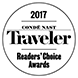 2017 Conde Nast Traveler Readers' Choice Award
