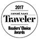 2017 Conde Nast Traveler Readers' Choice Award