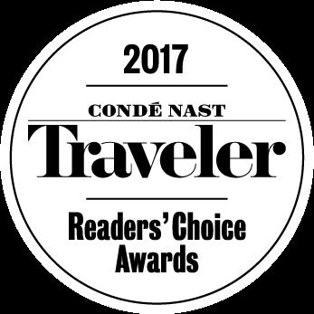 2017 Conde Nast Readers' Choice Awards