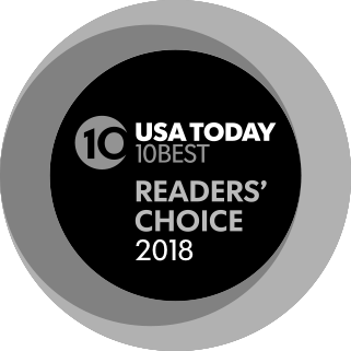 USA Today's 10Best 2018 Readers Choice Awards